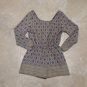 Dresses & Skirts - Classy Pattern Print Romper